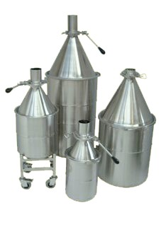 Stainless Steel Drums and Cones
